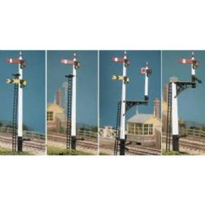 Ratio 486 LNER Lattice Post Signals Kit